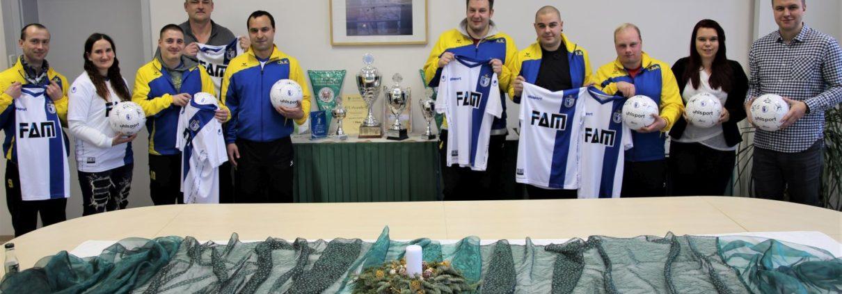 Blau-weiße Freude bei dem Fußballteam des Lebenshilfe-Werk Magdeburg